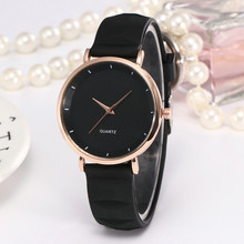Woman watches Fashion Watch Casual Silicone Strap Analog Quartz wristwatches Round Watch women clock ladies gift