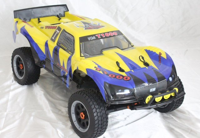 baja T1000 rc car gas with gt3b remote control