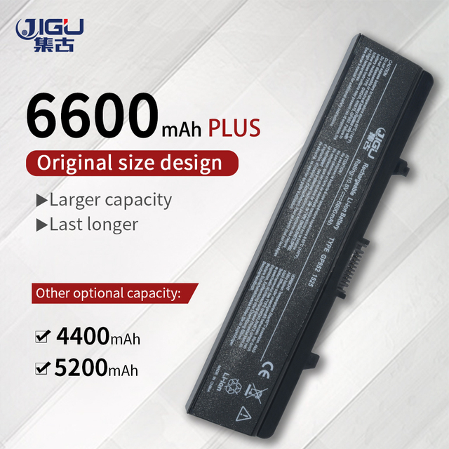JIGU 6Cells Laptop Battery GW240 HP297 M911G For Dell Inspiron 1525 1526 1545 1546 1440 1750 For Vostro 500