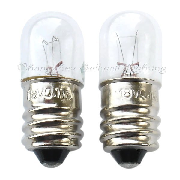 2020 Rushed Real Commercial Ccc Ce Edison Edison Lamp 18v 0.11a T13x33 New!miniature Bulb Light A111