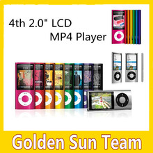 """Free Shipping 4th High-quality Ultrathin Real 8GB 1.8"""" LCD MP4 Player FM Radio Video ,9 Colors"""