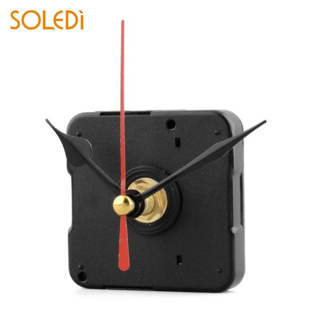 Silent Clock Quartz Movement Mechanism Red and Black Hand Part Repair Tool Set Wall Clock Home Decoration Dropshipping