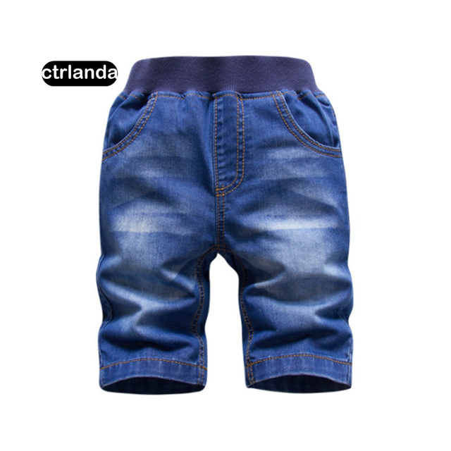 Baby Boy Denim Shorts Kid Cotton Casual Top Quality Jeans Shorts 2-8Y Boy Summer Clothes Shorts Costume dropshipping promotion