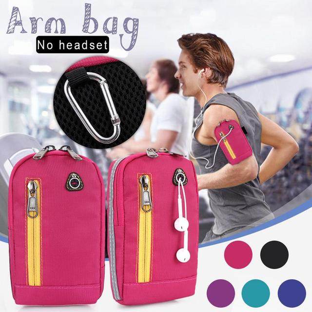 Sports Running Armband Bag Case Cover Running Armband Double Universal Waterproof Outdoor Sport Mobile Phone Holder