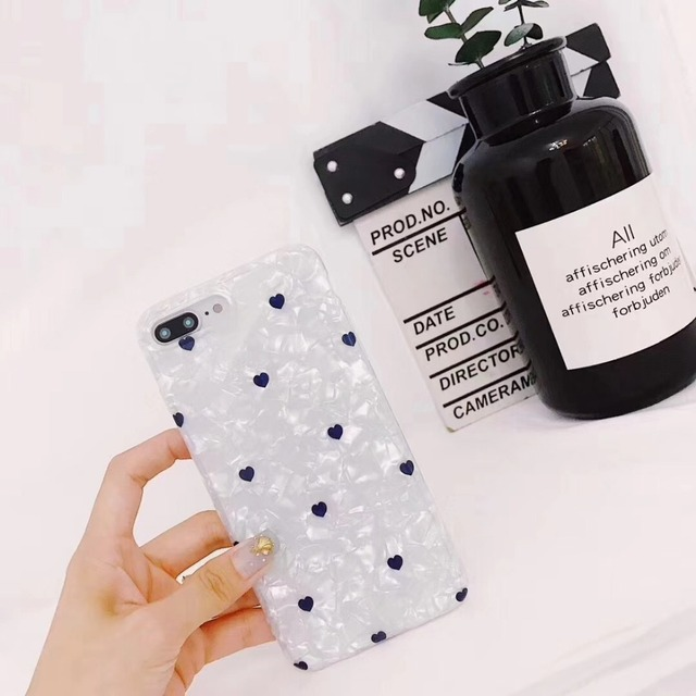 for phone 6 6s 7 8 Han Feng Small Love Case Soft Cover for iphone X Female Models Drop All-inclusive for iphone 6plus 6splus