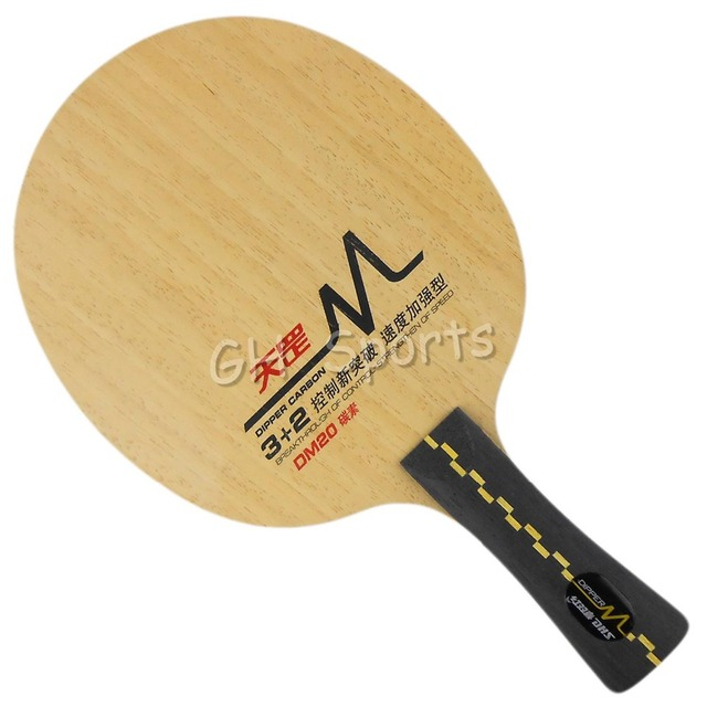 DHS DM.20 Table Tennis Blade for PingPong Racket shakehand long handle FL
