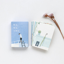 28 sheets/Set Yesterday Today Rainy day Mini Lomo Postcard /Greeting Card/Birthday Letter Envelope Gift Card Message Card