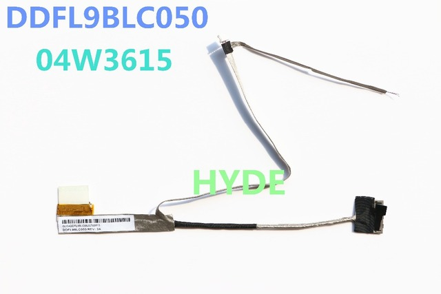 NEW DDFL9BLC050 FRU:04W3615 LVDS CABLE FOR LENOVO THINKPAD X130E E120 E125 LCD LVDS CABLE
