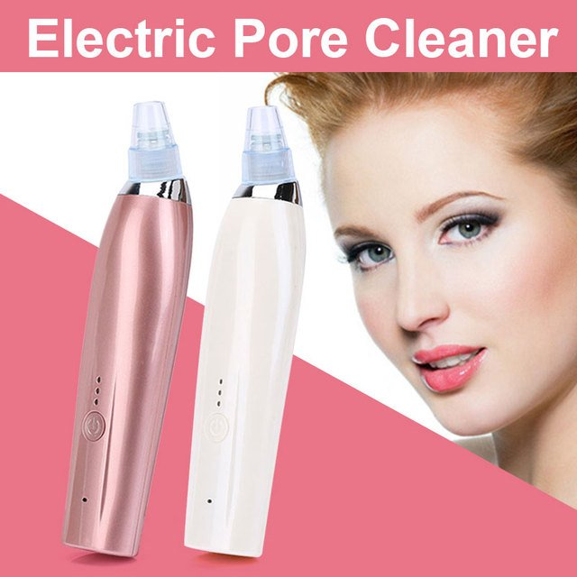 Electric Pore Cleaner Face Cleaning Blackhead Remover Artifact Acne Suction Vacuum Comedo Suction Face Diamond Beauty Machine