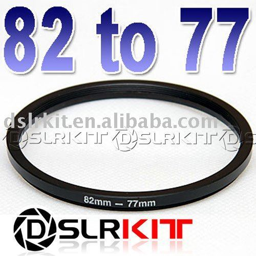 82mm-77mm 82-77 Step Down Filter Ring Stepping Adapter