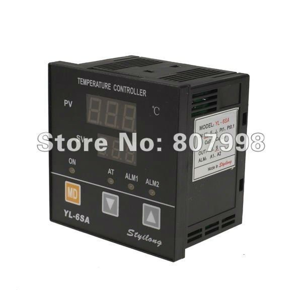 NEW YL-6SA K Type Digital PID Temperature Control Controller 180V - 240V AC ,2-row 3-digits display