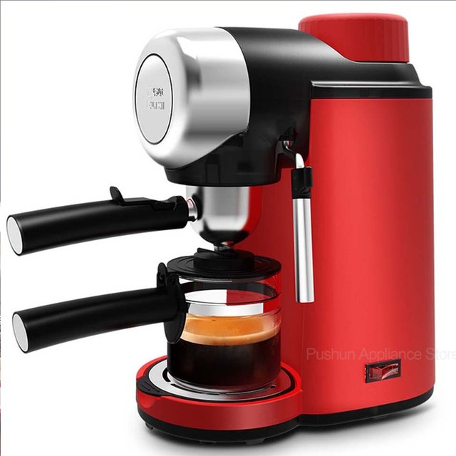 Semi-Automatic Espresso Coffee Machine Steam Type Coffee Maker Italian milk coffee Electric Foam Coffee Maker