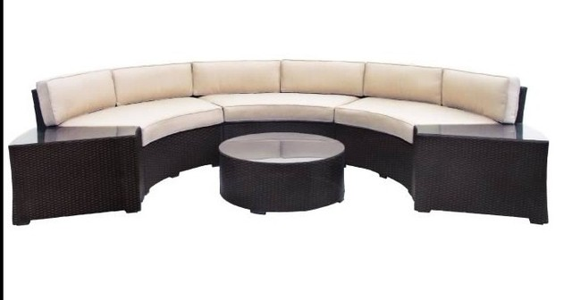 Hot sale discount sale outdoor vintage synthetic rattan furniture