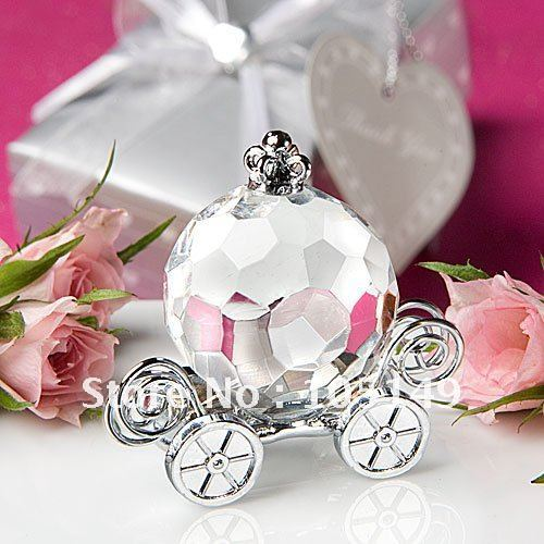 (10 pieces/lot) Baby Birthday Party Decoration Gift of Crystal Carriage Baby Gift for baby souvenirs and baby party gift