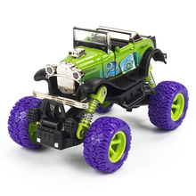 1:34 Pull Back Metal Alloy Car Model Birthday Gift For Kids Climbing Vehicle Toy Simulation Vehicles Children Toys