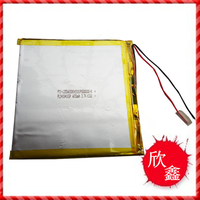 Tablet battery 40104103P 4650MAH 3.7V polymer lithium battery A new battery Rechargeable Li-ion Cell