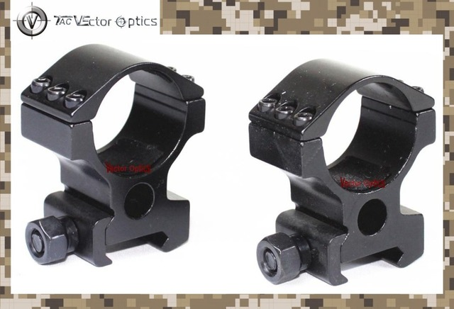 TAC Vector Optics 30mm Rifle Scope High Weaver Mount Rings fit for Aimpoint