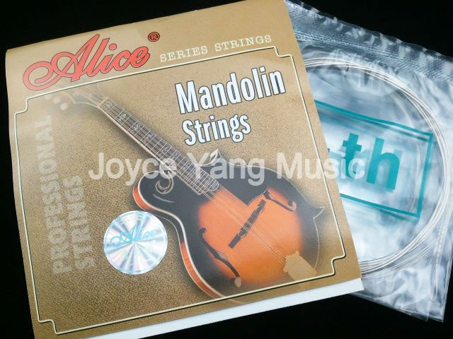 Alice AM03 Mandolin Strings Plated Steel&Silver Plated Strings 1st-4th 010-034 Free Shipping Wholesales