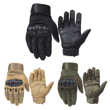 1 Pair Motorcycle Gloves Breathable Unisex Full Finger Glove Fashionable Outdoor Racing Sport Glove Motocross Protective Gloves
