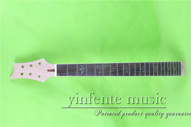 """24.75"""" Electric guitar neck mahogany made  rosewood  fingerboard fine quality  22 fret"""