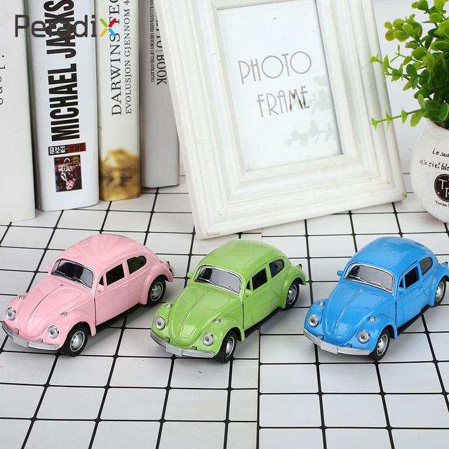 2018 Drop Shipping Beetle Model Car Realistic Collection Beetle Car Toy Multicolor Cute Cultivate Interest Beetle Diecast  Car