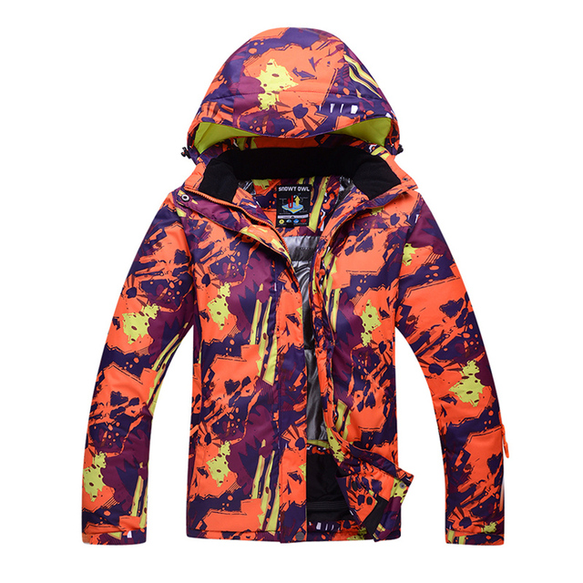 Ski Jacket Men Women Winter Waterproof Thermal Camouflage Snowboard Running river Outdoor Sports Hiking Jackets Male Female