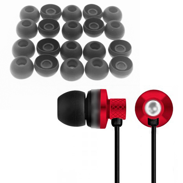 20pcs Silicone Earbud Cushion Replacement Headphone Headset Ear pads Silicone Gel Covers Tips For Earphone
