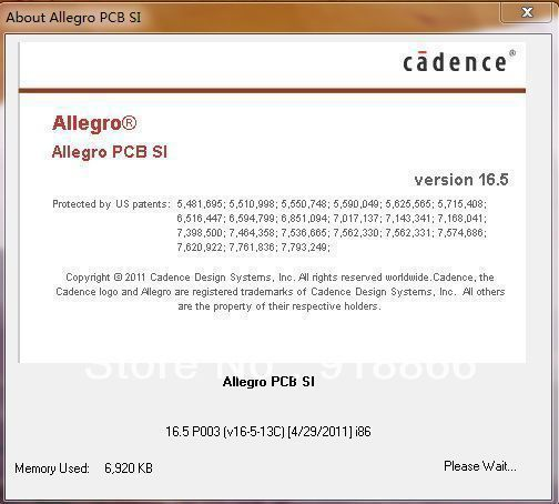 Cadence SPB 16.5 Cadence Allegro / OrCAD SPB 16.5 English full version