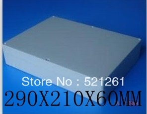 plastic waterproof box plastic enclosure seal box 290x210x60