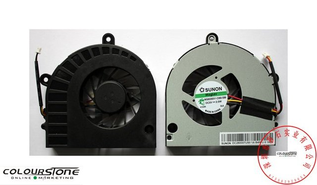Orginal and brand new laptop cpu cooling fan for acer Aspire 5251 5741 5552 5252 5551 notebook cooler fan