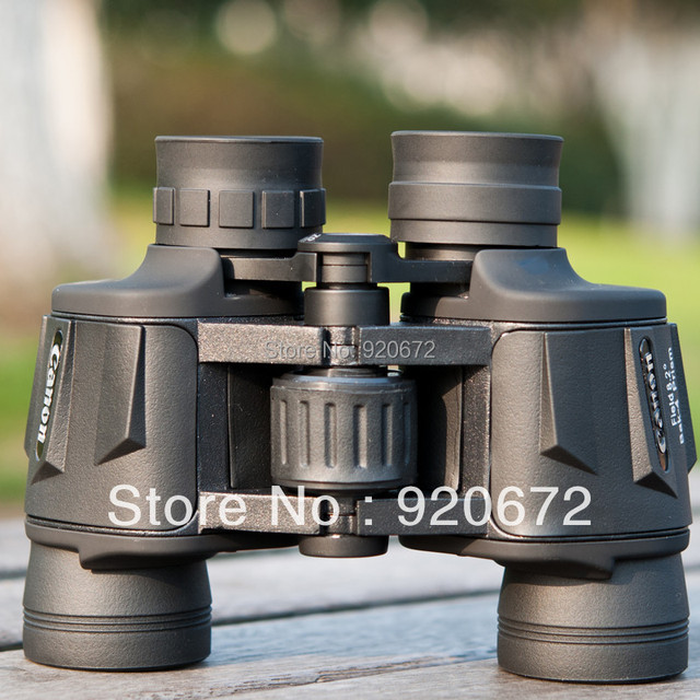Free Shipping Hd wide-angle Central Zoom Portable Night Vision Binoculars Telescope -Style No.Canon 8X40