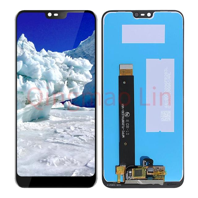 5.84'' 2280x1080 For Nokia 7.1 TA-1085 TA-1095 Screen LCD Display Digitizer Touch Screens Repair Parts