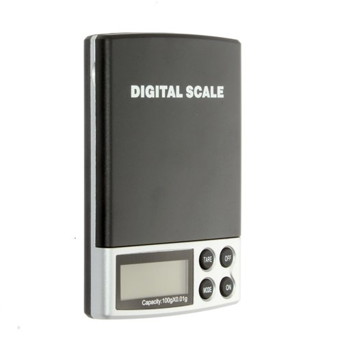 100g x 0.01g Electronic Portable Digital Scale Weighing Precision Pocket Jewelry Weight Diamond Scale