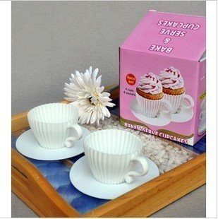 new arrival Cake decoration cake tool cup silicone cake mold