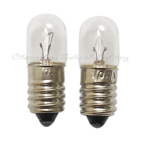 E10 T10x28 12v 0.1a Miniature Lamp Light Bulb A299