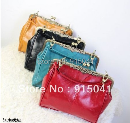 On sale!! (5 colors) 2013 Retro vintage Handbags Diagonal fashion package messenger bag women's shoulder bags Free shipping