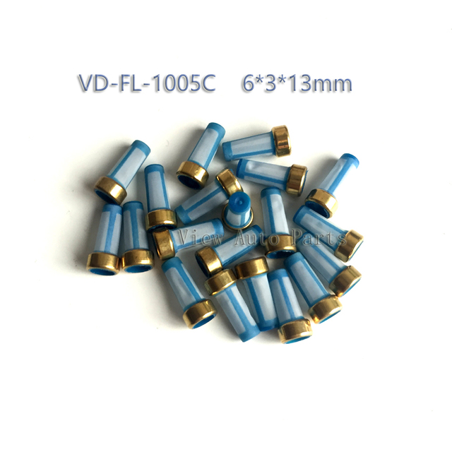 200pcs For Opel Daewoo Corsa Vectra S10 Fuel Injector Basket Filter Top Quality Fuel injector Repair Service Kit VD-FL-1005C