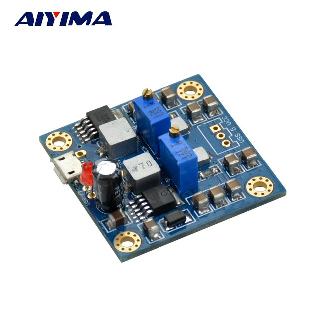AIYIMA HIFI Low Noise Single Voltage To Positive Negative Power Output Regulated Power Supply For AMP Decoder