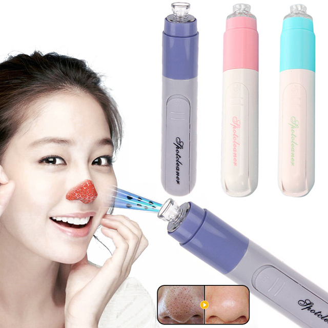 Fashion Mini Portable Blackhead Remover Tool Vacuum Extractor Acne Suction Exfoliating Pore Cleanser Beauty Instrument