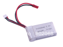 7.4V 850mA rechargeable Polymer Battery for toy helicopter,free shipping