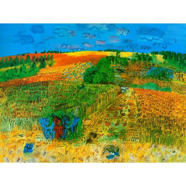 Modern oil painting Landscape The Harvest by Raoul Dufy artwork Reproduction 100% handmade High quality