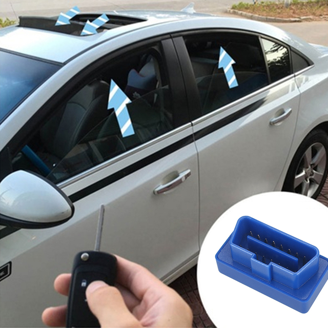 Window System Car OBD for Specific Window Closer No Error Blue Plastic Module Closing Opening Vehicle Lifter Window Lift