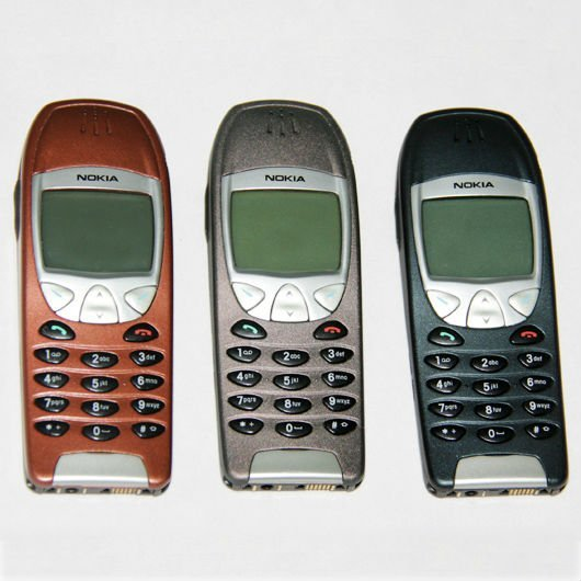 Wholesale 10pcs/lot Original Nokia 6210 Mobile Phone Old Cellphones 2G GSM 900/1800 Unlocked & One Year Warranty
