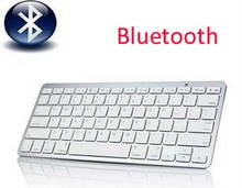 1pc 2.4Ghz  Wireless Bluetooth Keyboard Slim for Apple iphone iPad Samsung Galaxy Tablet PC Laptop PC  + Free Shipping,D0162