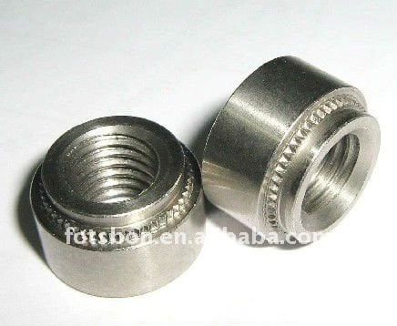 S-M2-2 press in nuts,made in china ,a lot in stock,clinching nut, PEM standard,rivet nut,factory direct selling