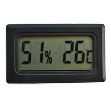 Thermometer Hygrometer Temperature Control Pet Reptile Product Fish Tank Embedded Mini Type Electronic Digital Display