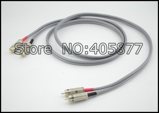 AN-Vx Solid Core 99.99% Pure Silver RCA 1m without box