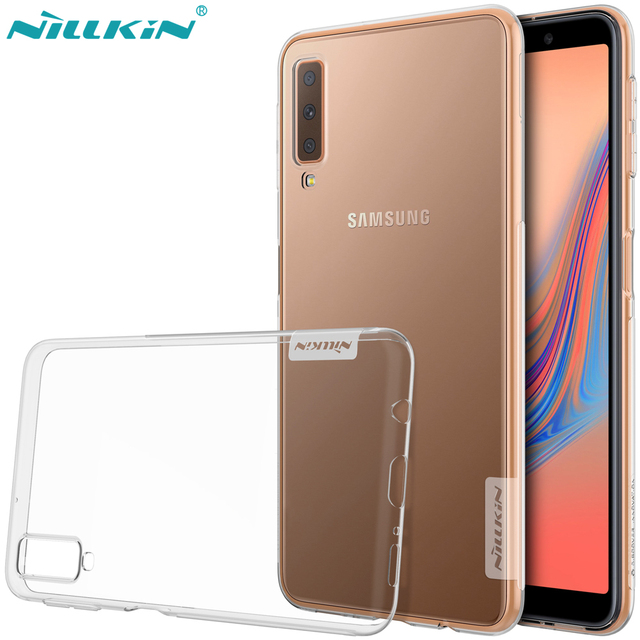 for Samsung Galaxy A7 (2018) Case,NILLKIN Nature clear TPU Ultra Thin Case for Samsung Galaxy A7 (2018)  Soft Back cover case