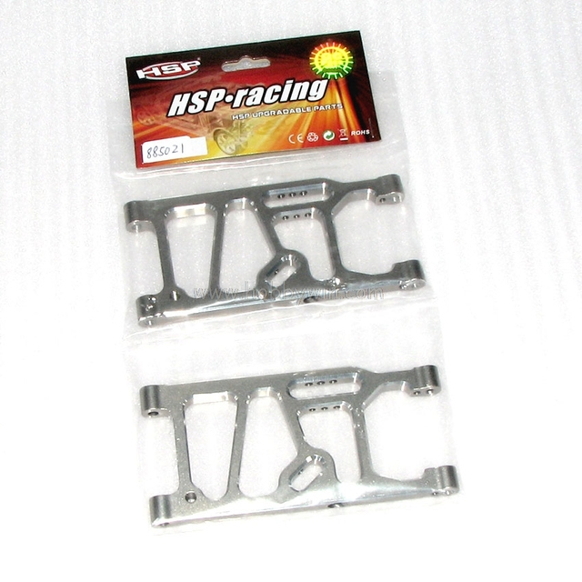 HSP part 885021 Rear Lower Suspension Arms (Aluminum) X2P For Hispeed Himodel1/8 94885 94885E9 94886