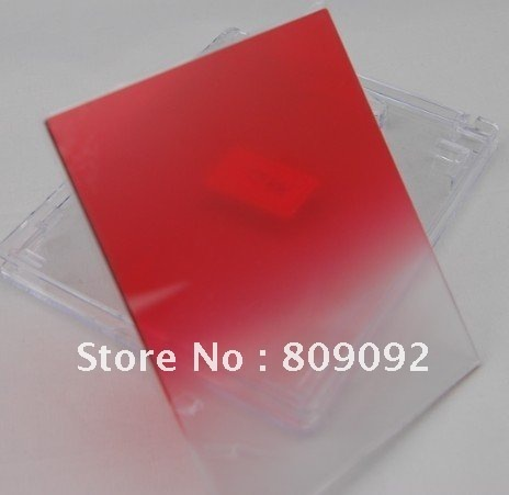 Gradual Sunset Red Color Filter for Cokin P Series